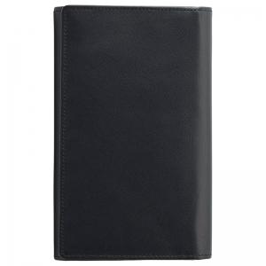 ソフトオイルレザーカード24枚収納財布(ブラック)TA40-01