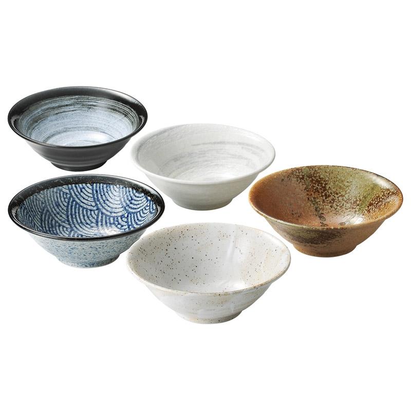 和柄麺鉢5柄