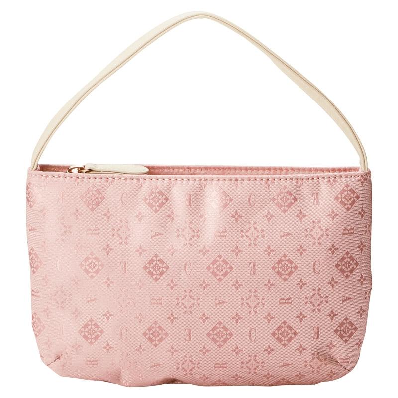 クレア トラベラー バッグインポーチ ピンク