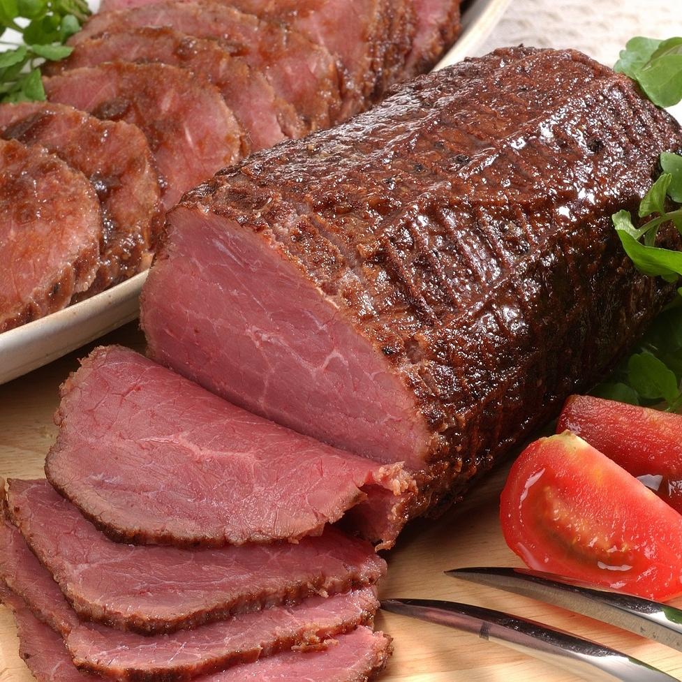 イベリコ豚ローストポーク&赤ワイン仕立てローストビーフ
