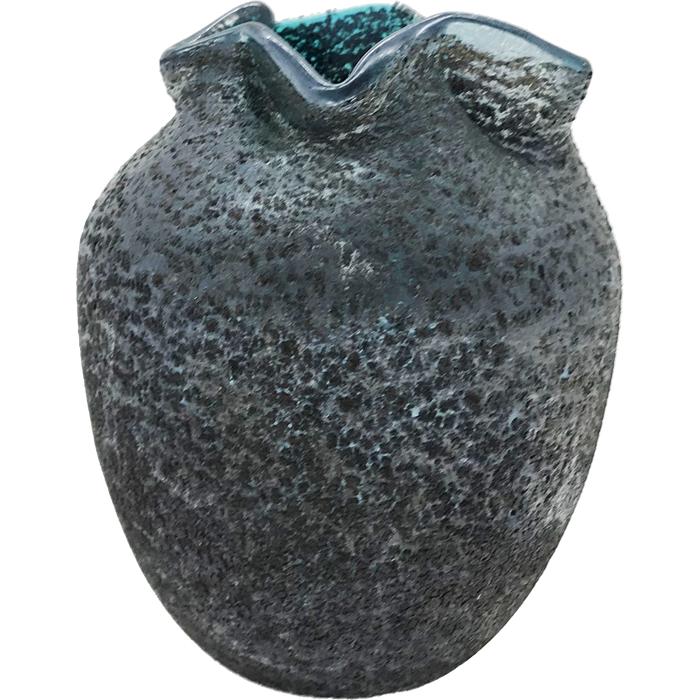 ガラス製 ハンドメイド花瓶B