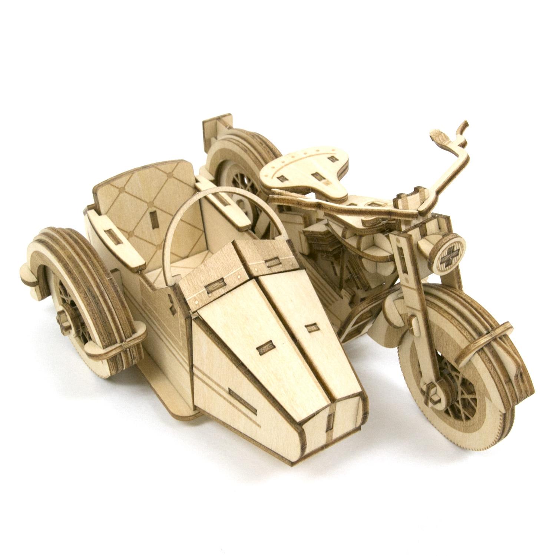 Wooden Art ki-gu-mi クラシックサイドカー