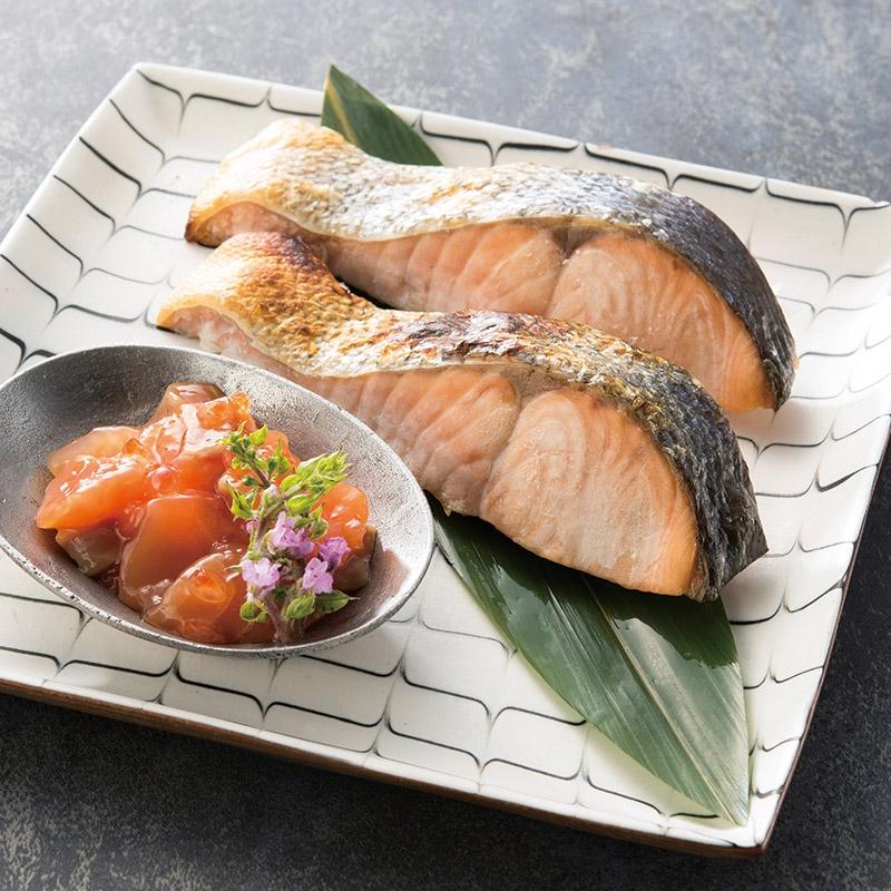 北海道産新巻鮭親子セット