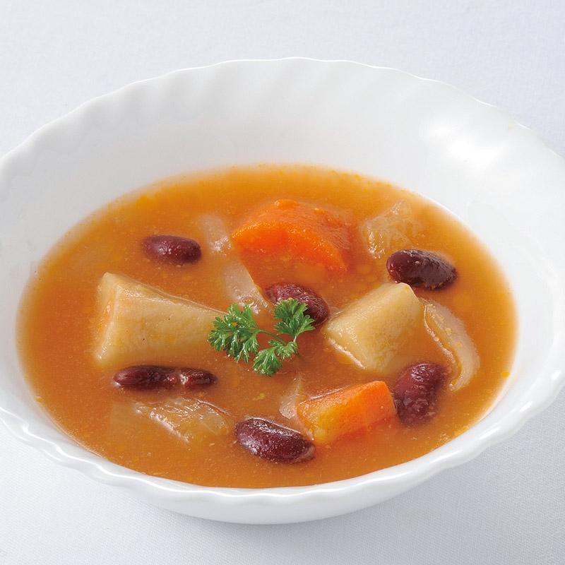 ボルシチ風たっぷり野菜のトマトスープ