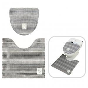 スヌーピー ソフトモノトーン トイレ2点セット(洗浄暖房便器用)