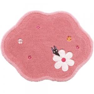 魔女の宅急便 アクセントマット 約50×65cm こんにちは ピンク