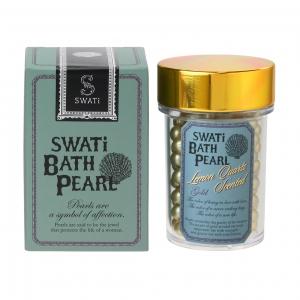 入浴剤「バスパール」SWATi BATH PEARL(M 52g)  ゴールド(レモンクォーツの香り)