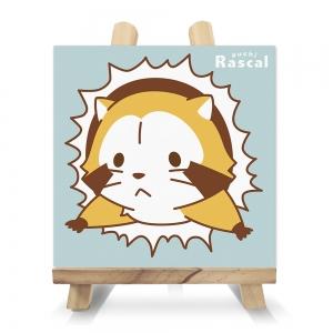 プチラスカル キャンバス4点セット-壁からシリーズ-(イーゼル付)