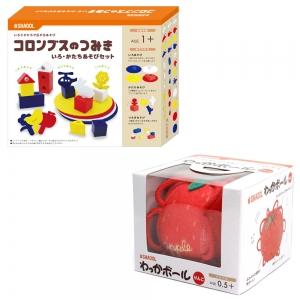知育玩具お祝いセット(色形・りんご)