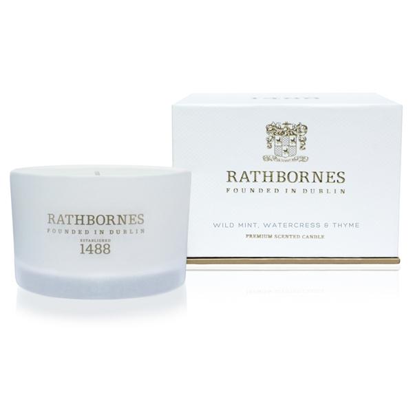 RATHBORNES1488 トラベルキャンドル ワイルドミント