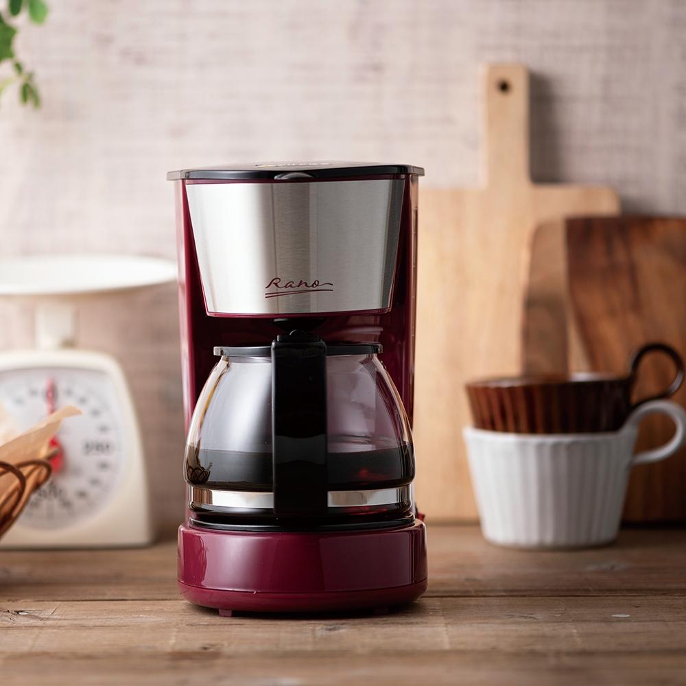 ラノー コーヒーメーカー5カップ(ステン)