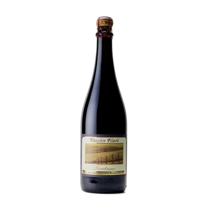 赤のスパークリングワイン「ランブルスコ」 辛口4本セット