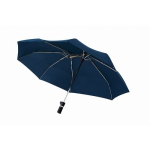 軸をずらした折りたたみ傘 Sharely ネイビー