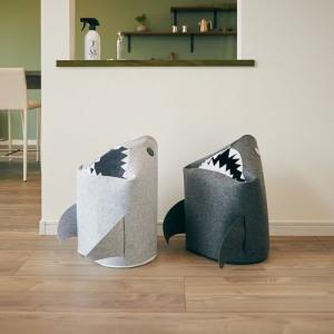 折りたたみフェルトストレージ「shark(シャーク)」 2色セット