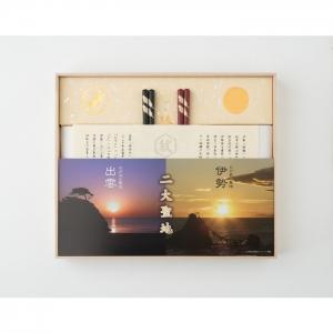 伊勢 出雲 豊穣結び奉納米(伊勢)+神結米(出雲)+ご縁箸(八雲)