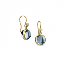 PRIME EARRING/ICE BLUE CRYSTAL