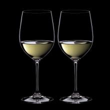 リーデル ペア白ワイングラス