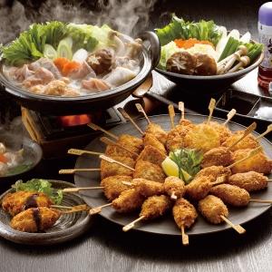 「博多 華味鳥」水たき・串揚げセット