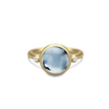 PRIME RING/ICE BLUE CRYSTAL