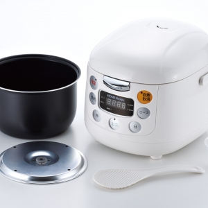 HOME SWAN マイコン式炊飯ジャー3.5合炊き
