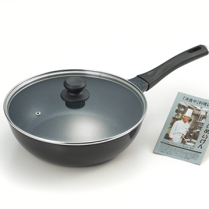 たいめいけん アルミ鋳物いため鍋28cm(ガラス蓋付)