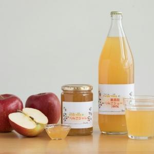 ファームトヤの「100% りんごジュース」・「りんごジャム」
